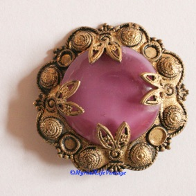 Etsy GV128 pink brooch 4CR