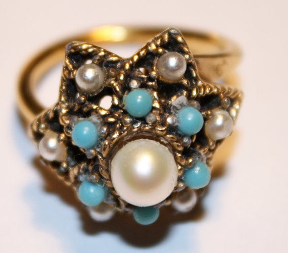 Etsy sarah coventry ring