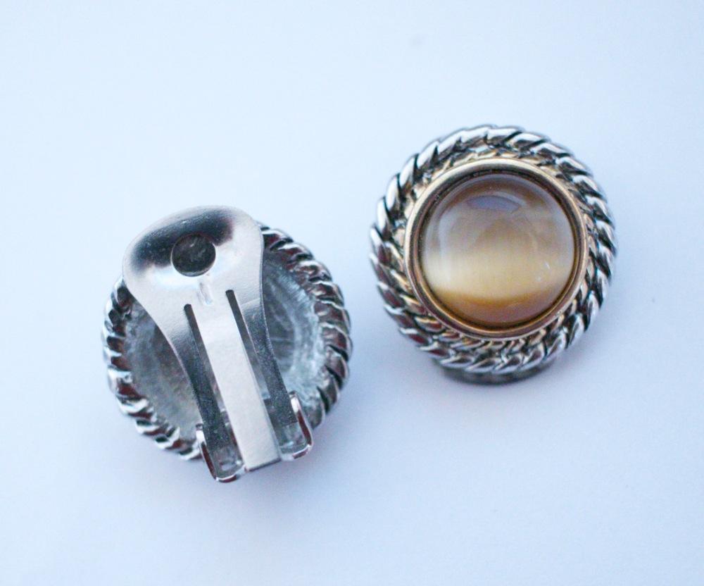Etsy tiger clip earrings 2